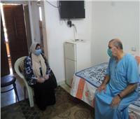 توقيع الكشف الطبي على نزلاء دار السعادة للمسنين بطنطا