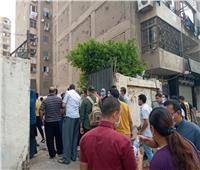 صور| توافد طلاب الثانوية العامة على لجان الامتحان بمدرسة ناصر العسكرية بشبرا
