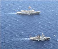 القوات البحرية المصرية والإسبانية تنفذان تدريبا عابرا بنطاق الإسطول الجنوبي بالبحر الأحمر