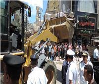 ضبط مقاول وعدد من البلطجية تصدوا لحملة إزالة بحى وسط الإسكندرية
