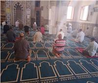 صور| مساجد جنوب سيناء تستقبل المصلين بالتعقيم والتطهير