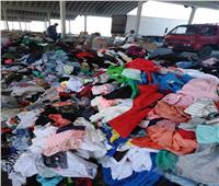 جمارك نويبع تضبط محاولة تهريب كمية من الملابس الجاهزة والأحذية