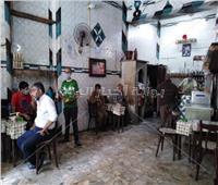 صور| الحياة تعود جزئيًا لـ10 آلاف مقهى في الإسكندرية.. و«السياحة» تحذر المخالفين