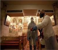 تطهير وتعقيم المساجد والكنائس ومراكز الشباب بمطروح