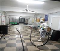 أسيوط تواصل حملات التطهير والتعقيم بالمستشفيات ضمن إجراءات مواجهة كورونا