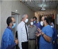 تعافي 5 حالات كورونا وإضافة 20 سرير عزل بمستشفى فرشوط