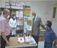 سكرتير عام محافظة قنا يتفقد مستشفى فرشوط المركزي لمتابعة أعمال تطويرها