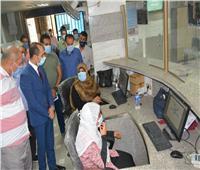 نائب محافظ سوهاج يتفقد مستشفى المراغة والمركز التكنولوجي لخدمة المواطنين