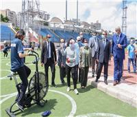 محافظ الإسكندرية يُطلق إشارة بدء عودة النشاط الرياضي