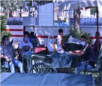 صور| نادي الزمالك يفتح أبوابه لاستقبال الأعضاء
