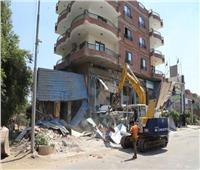 محافظة المنوفية تشن أقوى حملة لإزالة التعديات بطريق شبين الكوم