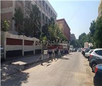 تكثيفات امنية مشددة قبل دخول طلاب ثانوية عامة اللجان بمدينة نصر