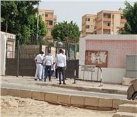 بدء دخول طلاب الثانوية العامة لجان مدارس القاهرة الجديدة