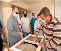 محافظ أسيوط يتفقد أعمال إنشاء بعض المدارس بقريتي «أبوالحارث والزرابي»