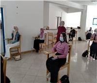 رئيس جامعة مطروح يتابع سير لجان امتحانات السنوات النهائية