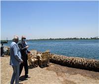 محافظ قنا يوجه باستكمال كورنيش النيل بقرية العضاضية في أبوتشت