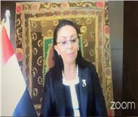 مايا مرسي: لابد من توافر ثقة رائدات الأعمال في العمالة النسائية