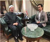 مفتي الجمهورية ضيف مصطفى المنشاوي في «ابن مصر»