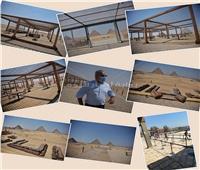 وزير السياحة: أعمال تطوير مشروع هضبة الهرم تسير بشكل منتظم