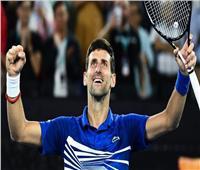 شفاء المصنف الأول على العالم في التنس من فيروس كورونا