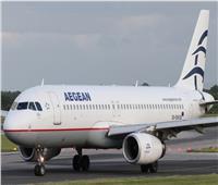 طائرة ركاب تهبط اضطراريا في اليونان