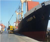 وصول 88 ألف طن بضائع إستراتيجية إلى ميناء الإسكندرية