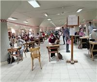 صور.. رئيس جامعة حلوان يتفقد سير امتحانات الفصل الدراسي الثاني