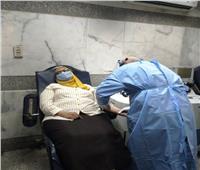 نائبة محافظ أسوان تتبرع بالبلازما لعلاج المصابين بفيروس كورونا