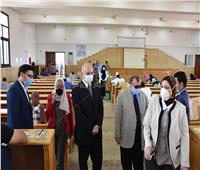 انتظام امتحانات الفرق النهائية بكليات جامعة مدينة السادات