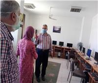 وكيل وزارة التضامن الاجتماعي بالقليوبية يتابع سير العمل في مجمع خدمات المرأة المتكاملة