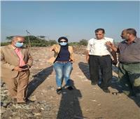 نائب محافظ القليوبية تتابعإزالة القمامة من المحطة الوسيطة بطوخ
