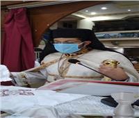 كنيسة العذراء والأم تريز بعزبة النخل تستقبل النائب البطريركي