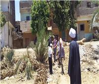 رفع 21 طن مخلفات في حملة نظافة بمدينة الزينية