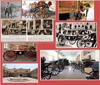 وضع اللمسات الأخيرة للعرض الخاص بمتحف «المركبات الملكية» ببولاق