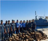 القوات البحرية تنجح في ضبط كمية كبيرة من المواد المخدرة بنطاق الأسطول الجنوبي