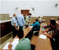 نائب رئيس جامعة بنها يتفقد امتحانات السنوات النهائية بالكليات