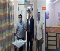 نائب محافظ القليوبية يتفقد مستشفى شبين القناطر