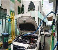 افتتاح مركز تحويل السيارات للغاز الطبيعي في قنا