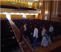 صور| أحمد عواض يتفقد قصر ثقافة مطروح استعداد لبدء الأنشطة