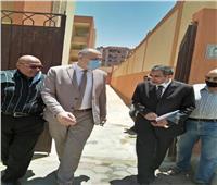 «مدير تعليم القاهرة» يتفقد مدارس «تحيا مصر الفنية» و«متعددة المراحل» استعدادًا لبدء تشغيلهما