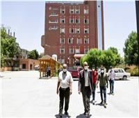 خروج وتعافي ١٤ حالة مصابة بفيروس كورونا المستجد من مستشفى قفط التعليمي