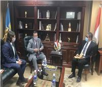 وزير السياحة والآثار يستقبل سفراء دولتي أوكرانيا وبيلاروسيا في القاهرة