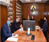عبر الفيديوكونفرانس.. وزيرة الصناعة تشارك فى ندوة البنك الاسلامي للتنمية