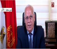 فيديو| محافظ بورسعيد: نسبة الشفاء من «كورونا» بالمحافظة مرتفعة جدًا