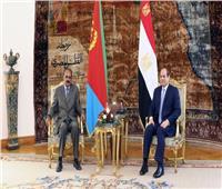 السيسي يجتمع برئيس الوزراء ووزيرة التخطيط