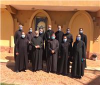 اجتماع الآباء الكهنة بإيبارشيّة الجيزة والفيوم وبني سويف