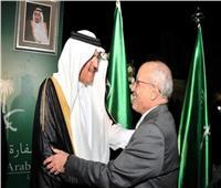 السفير السعودي بالقاهرة يقدم التعازي في وفاة الفريق العصار