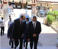 """"""" الفقي """" يزور محكمة سوهاج الإبتدائية استعدادا لانتخابات الشيوخ"""