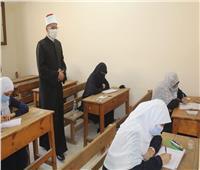 صالح عباس يتفقد لجان الثانوية الأزهرية بالمرج