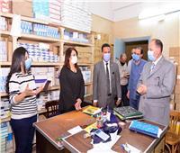 محافظ أسيوط يتفقد مخازن الأدوية والمستلزمات الطبيةبمديرية الصحة